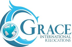 Grace International Relocations logo.