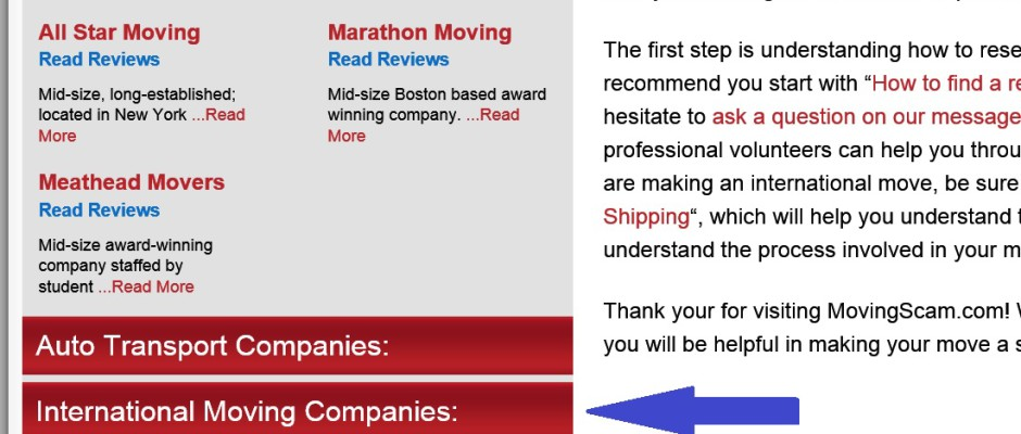 Moving Company Reviews >> Moving Scam