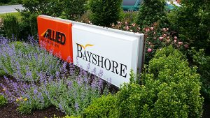 Bayshore Moving and Storage logo.