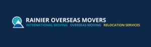 Rainier Overseas Movers logo.