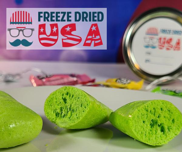 Freeze Dried Taffy